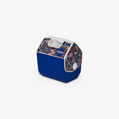 Angle View | NASA Patches Playmate Pal 7 Qt Cooler