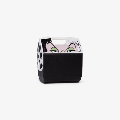 Angle View | Disney Villains Cruella Playmate Pal 7 Qt Cooler