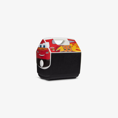 Angle View | Disney and Pixar Lightning McQueen Playmate Pal 7 Qt Cooler