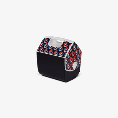 Angle View | Grateful Dead Steal Your Face Playmate Pal 7 Qt Cooler