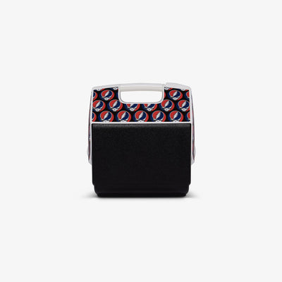 Back View | Grateful Dead Steal Your Face Playmate Pal 7 Qt Cooler