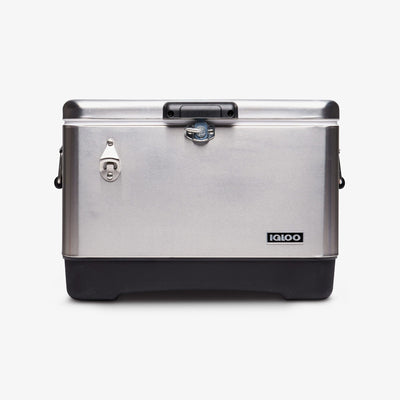 Large View | Legacy Stainless Steel 54 Qt Cooler
