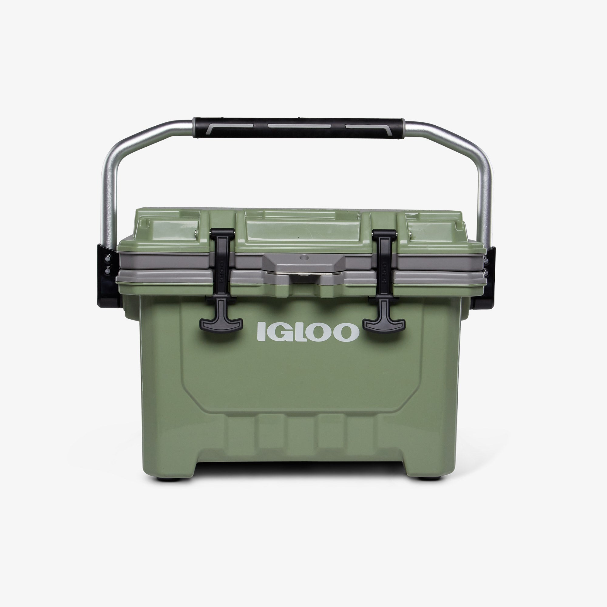 Front View | IMX 24 Qt Cooler::Oil Green