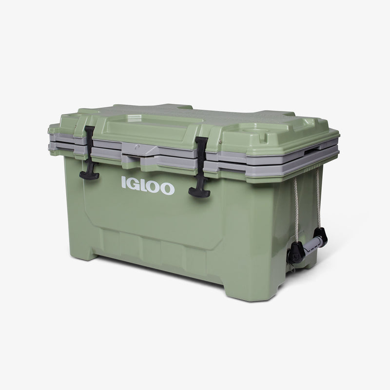 Large View | IMX 70 Qt Cooler::Oil Green