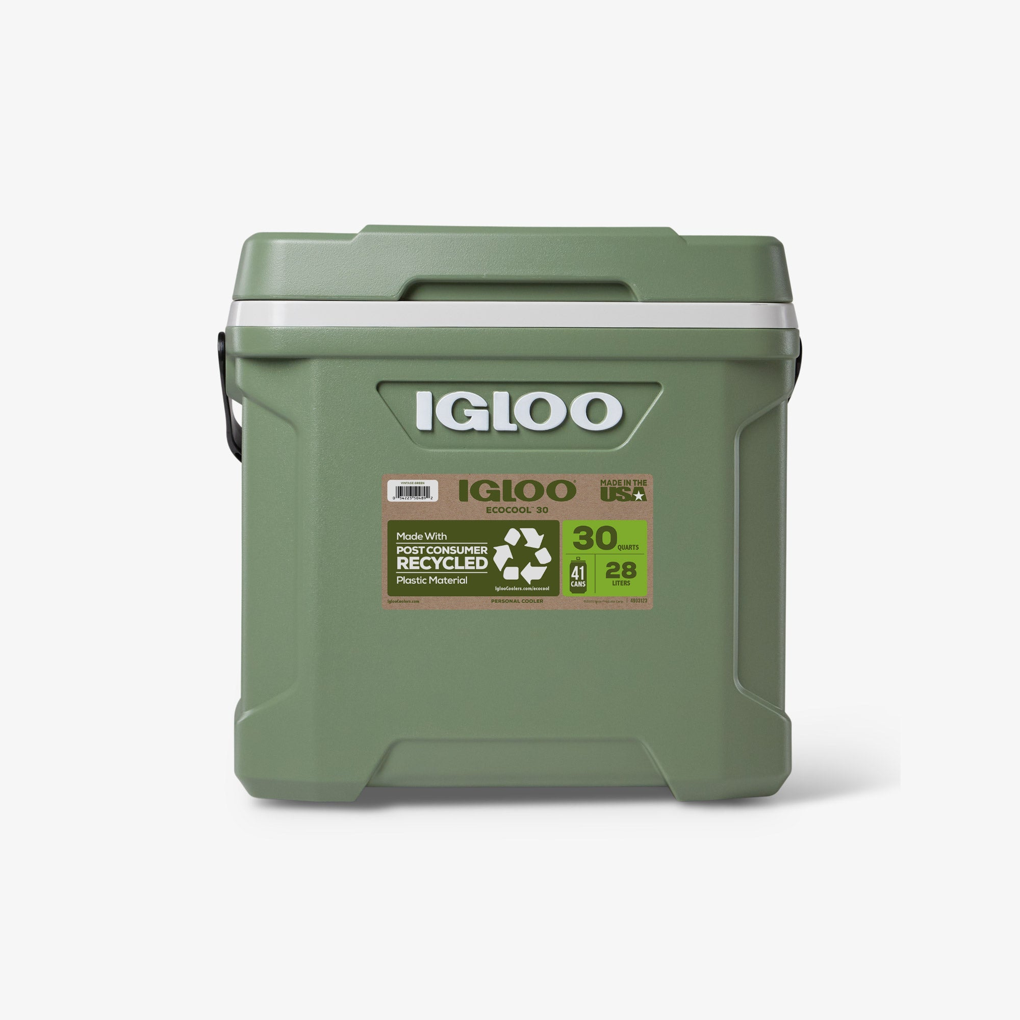 Front View | ECOCOOL Latitude 30 Qt Cooler