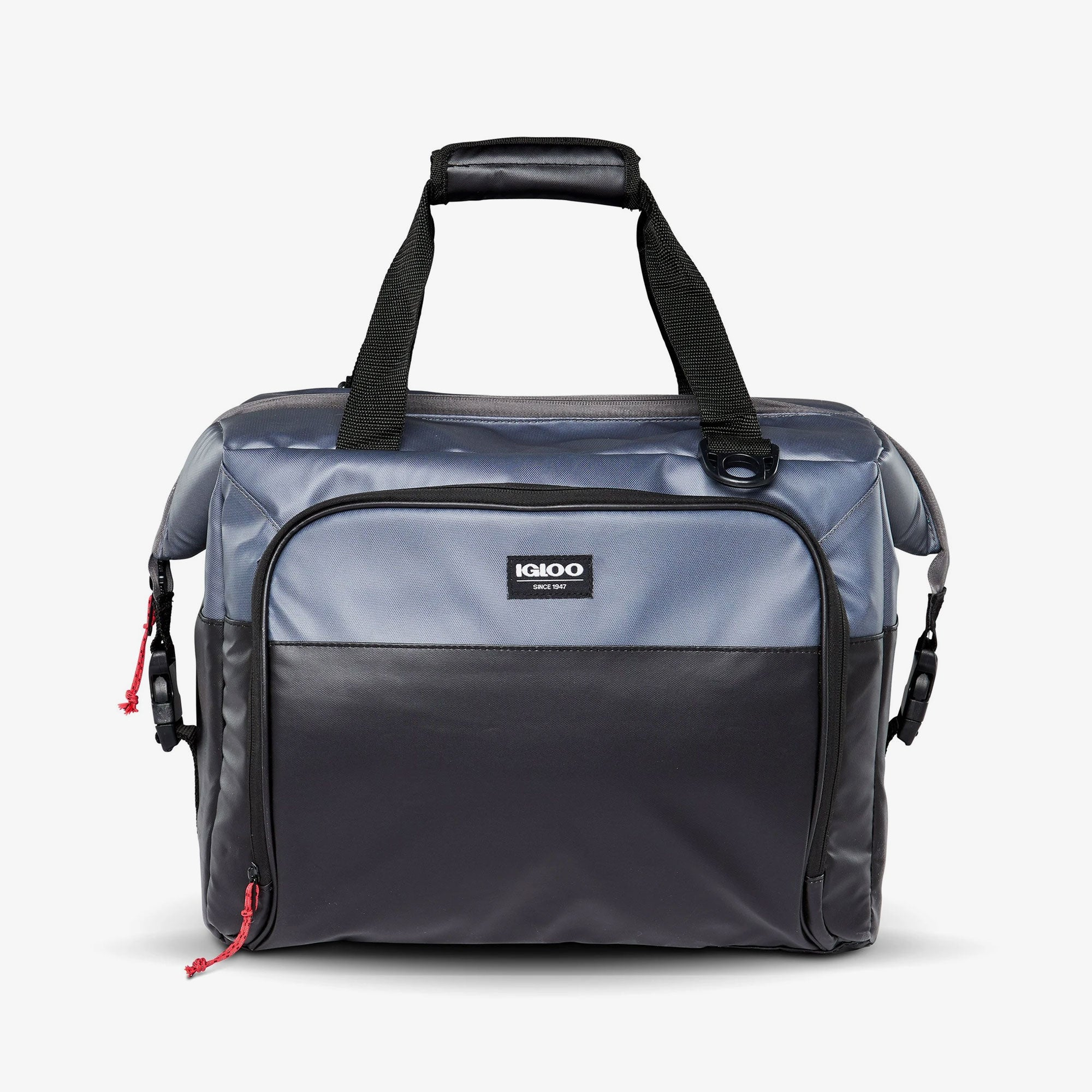 Large View | Seadrift Snapdown 36-Can Bag::Gray/Black