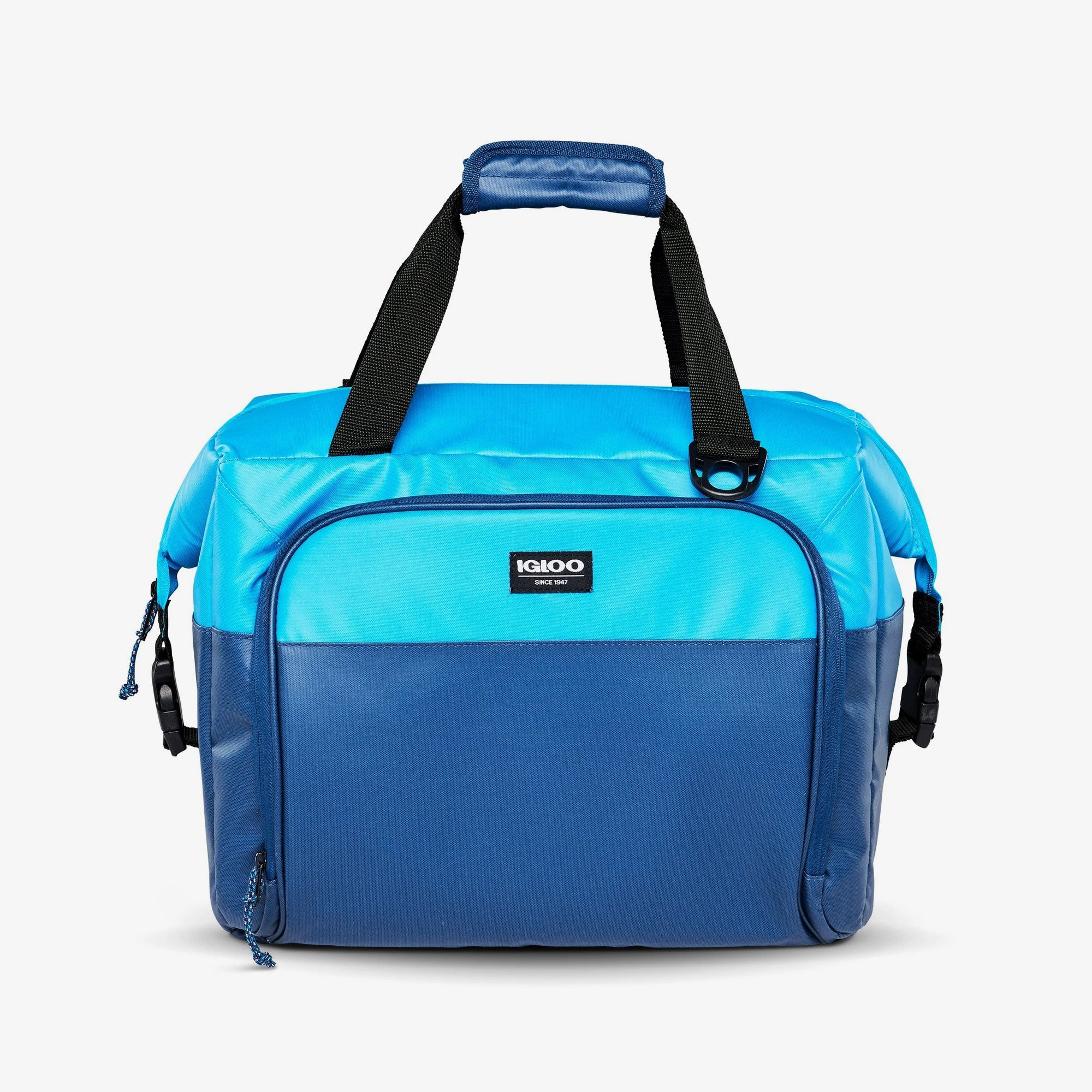 Large View | Seadrift Snapdown 36-Can Bag in Blue