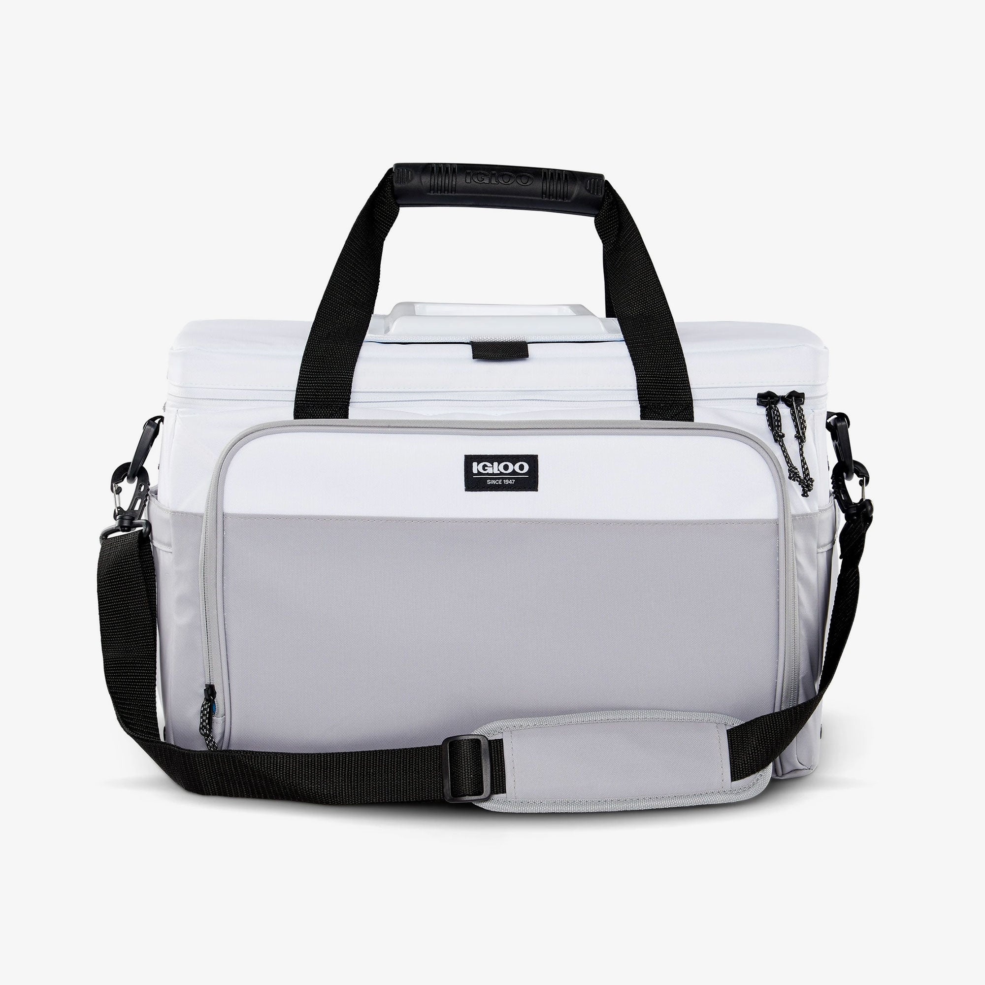 Large View | Seadrift Coast Cooler 36-Can Bag::White/Gray