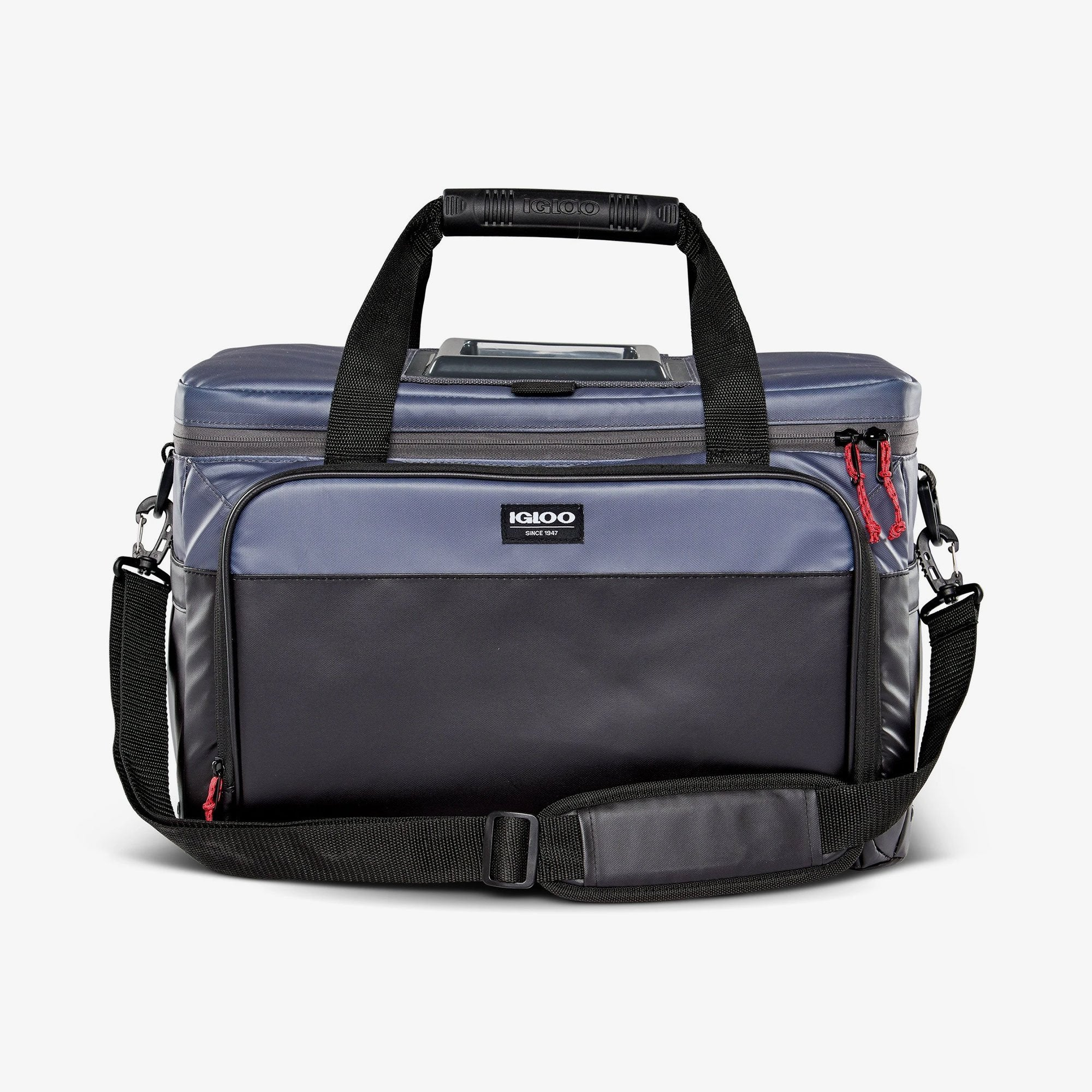 Large View | Seadrift Coast Cooler 36-Can Bag::Gray/Black