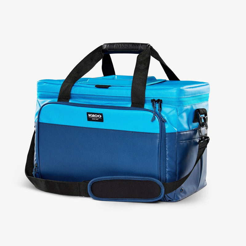 Large View | Seadrift Coast Cooler 36-Can Bag::Blue/Navy