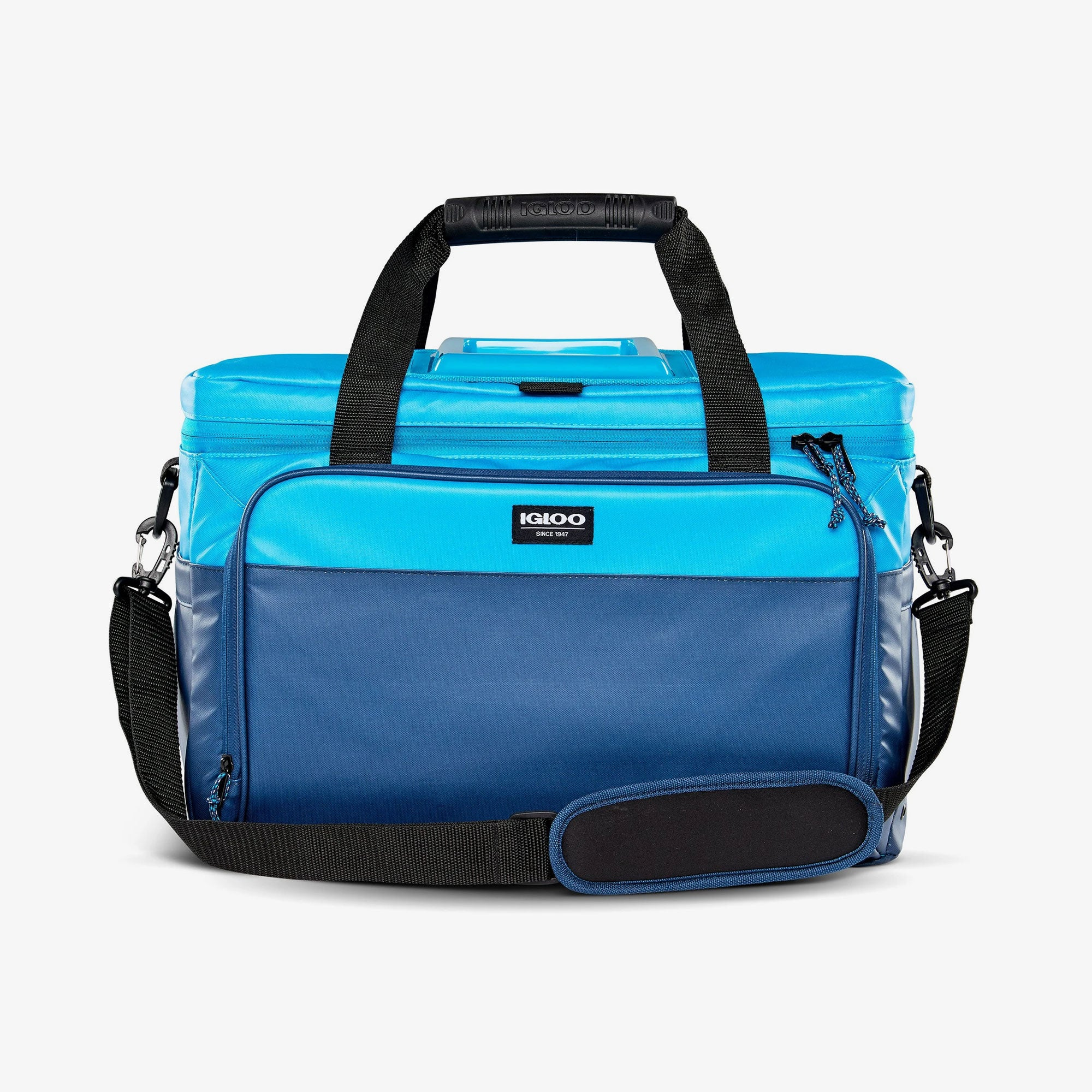 Large View | Seadrift Coast Cooler 36-Can Bag in Blue