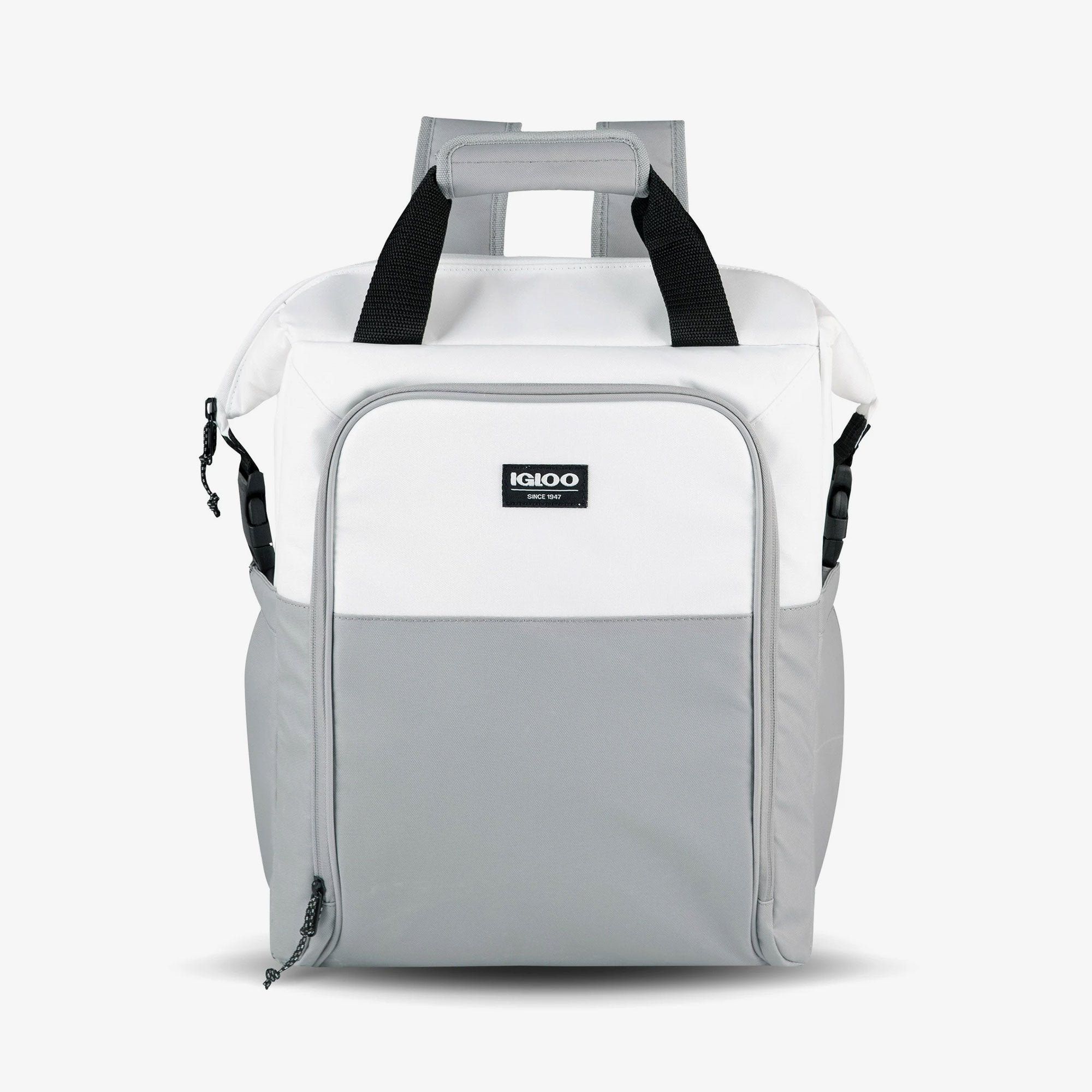 Large View | Seadrift Switch 30-Can Backpack in White/Gray