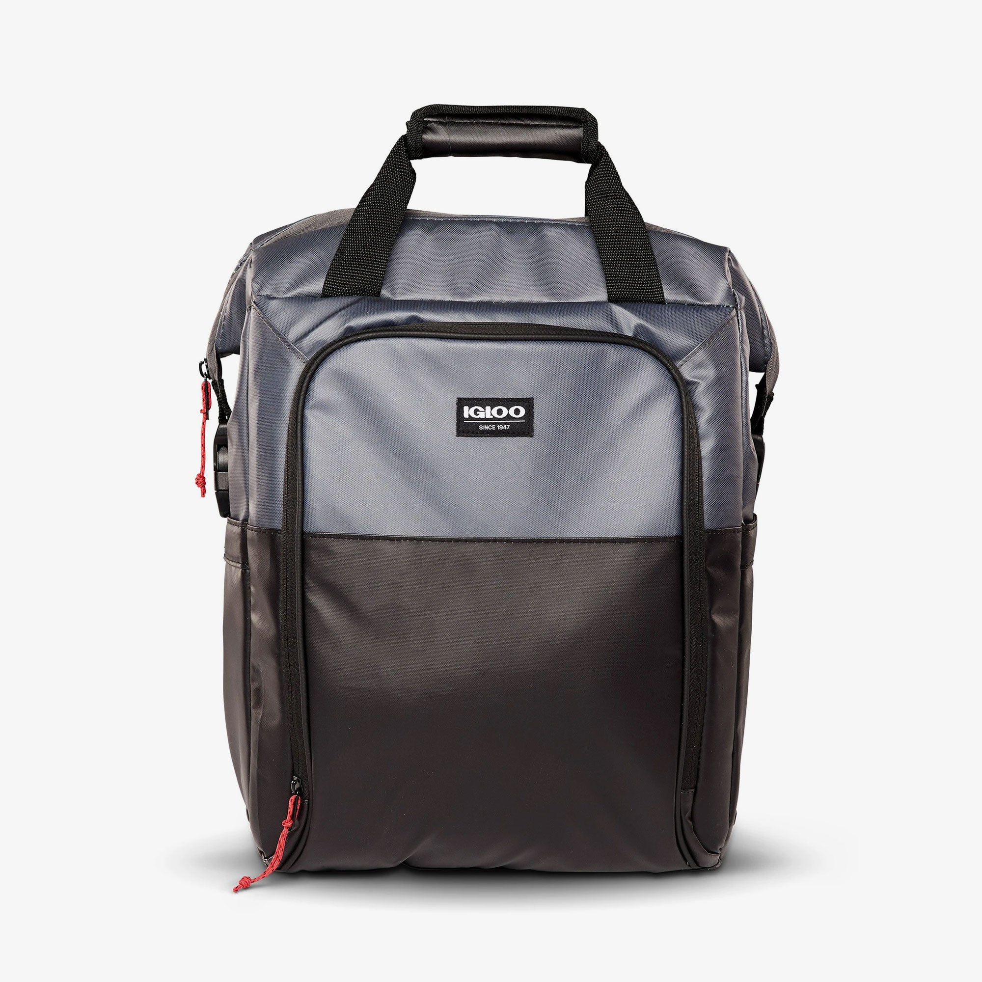 Large View | Seadrift Switch 30-Can Backpack::Gray/Black