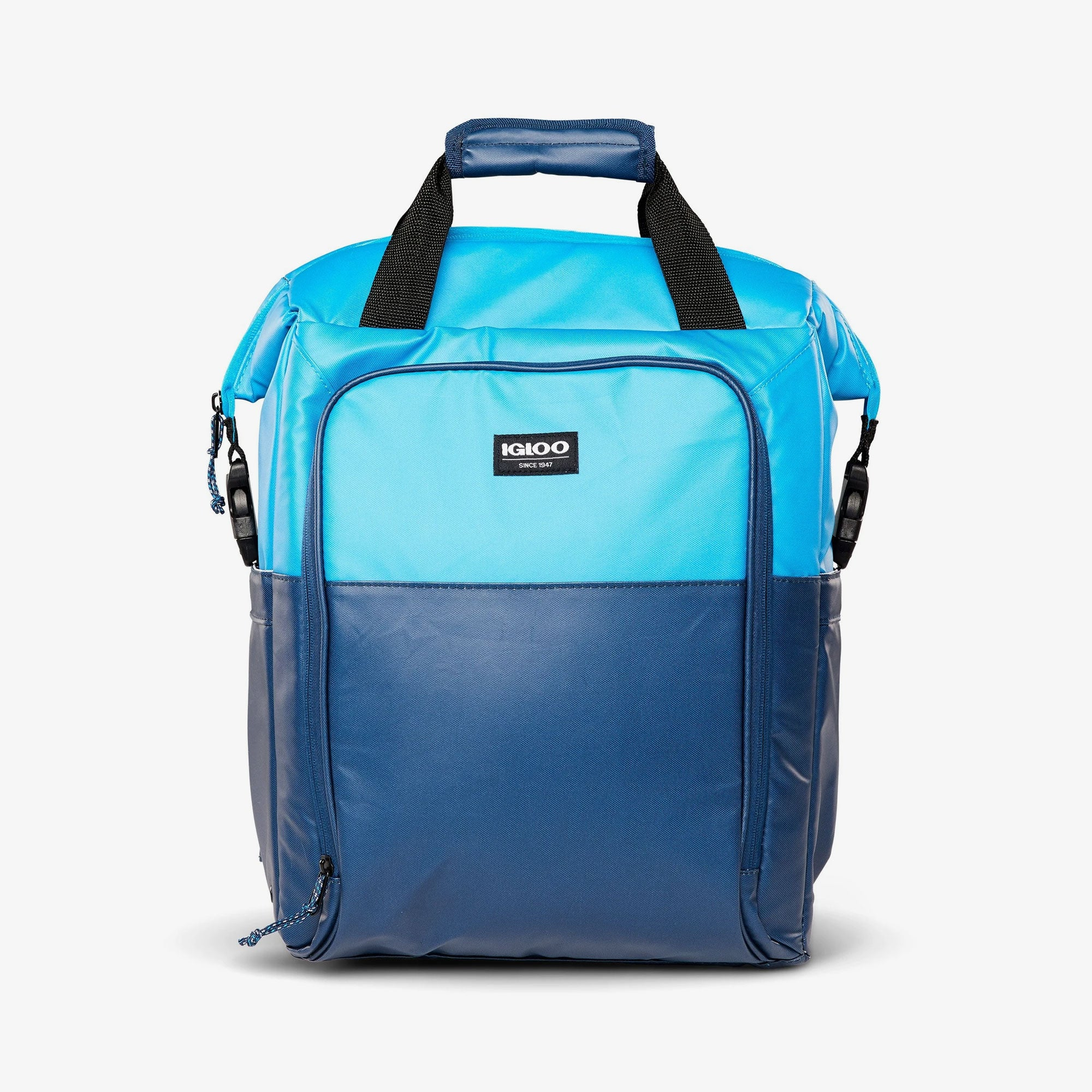 Large View | Seadrift Switch 30-Can Backpack in Blue