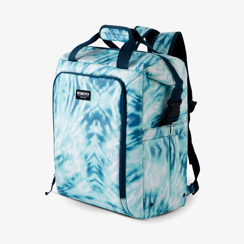 Large View | Seadrift Switch 30-Can Backpack::Tie-Dye