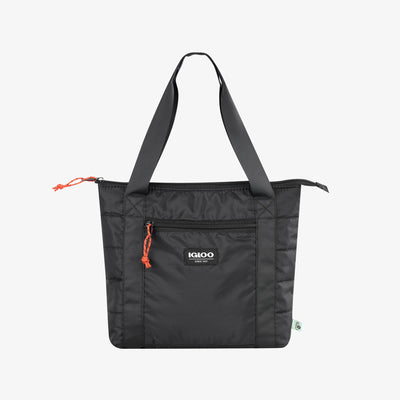 Front View | Packable Puffer 10-Can Cooler Bag