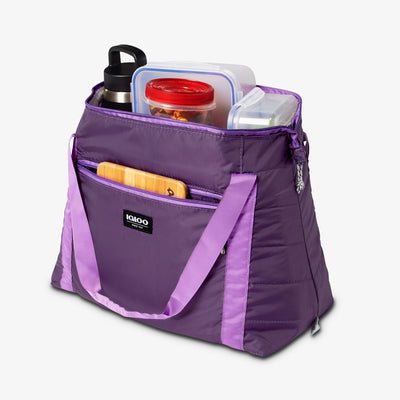 Open View | Packable Puffer 20-Can Cooler Bag