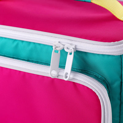 Detail View | Retro Square Lunch Bag