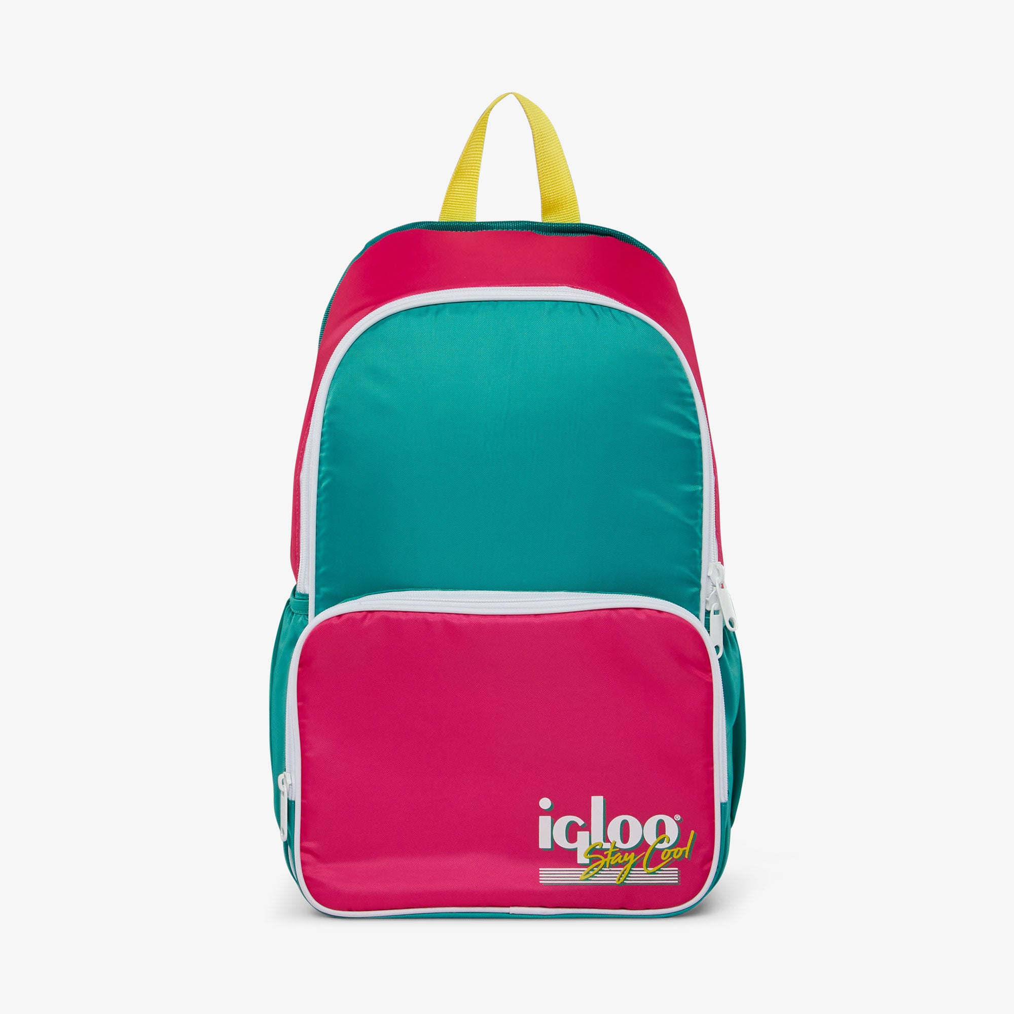 Front View | Retro Backpack Cooler