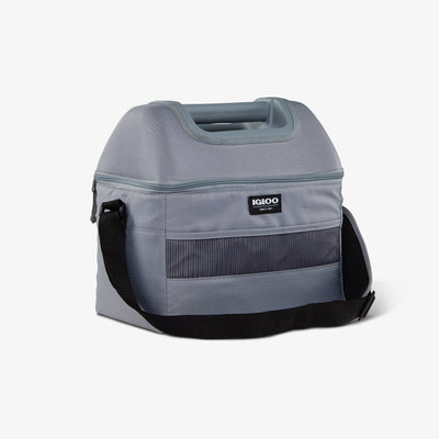 AngleView | Basics Hardtop Playmate Gripper 22-Can Cooler Bag