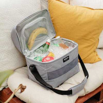 Image View | Basics Hardtop Playmate Gripper 22-Can Cooler Bag