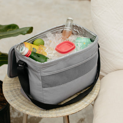 Basics Collapse & Cool 12-Can Cooler Bag