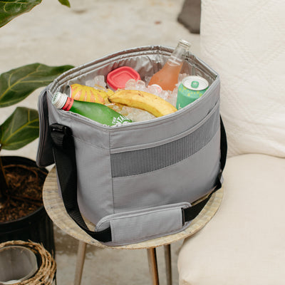Image View | Basics Collapse & Cool 24-Can Cooler Bag