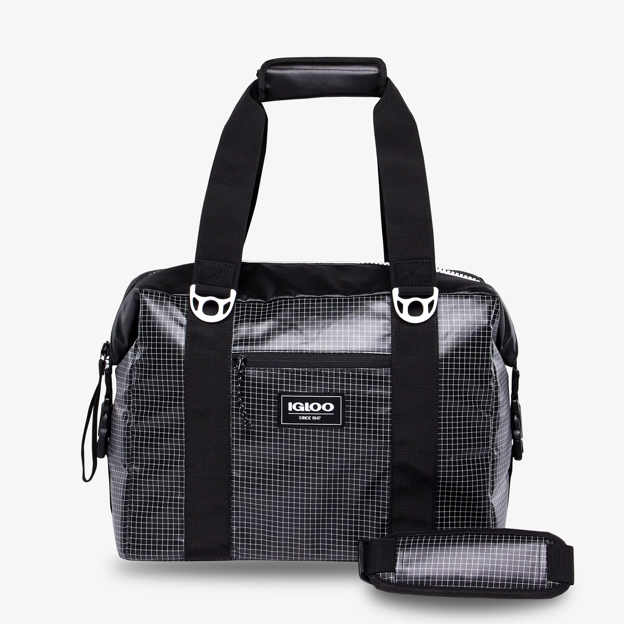 Front View | Outdoor Pro Snapdown 36-Can Bag