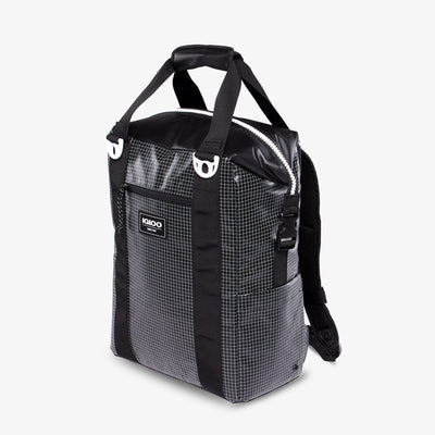 Angle View | Outdoor Pro Snapdown 42-Can Backpack