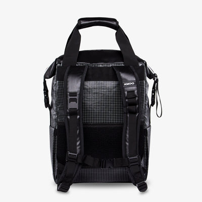 Back View | Outdoor Pro Snapdown 42-Can Backpack