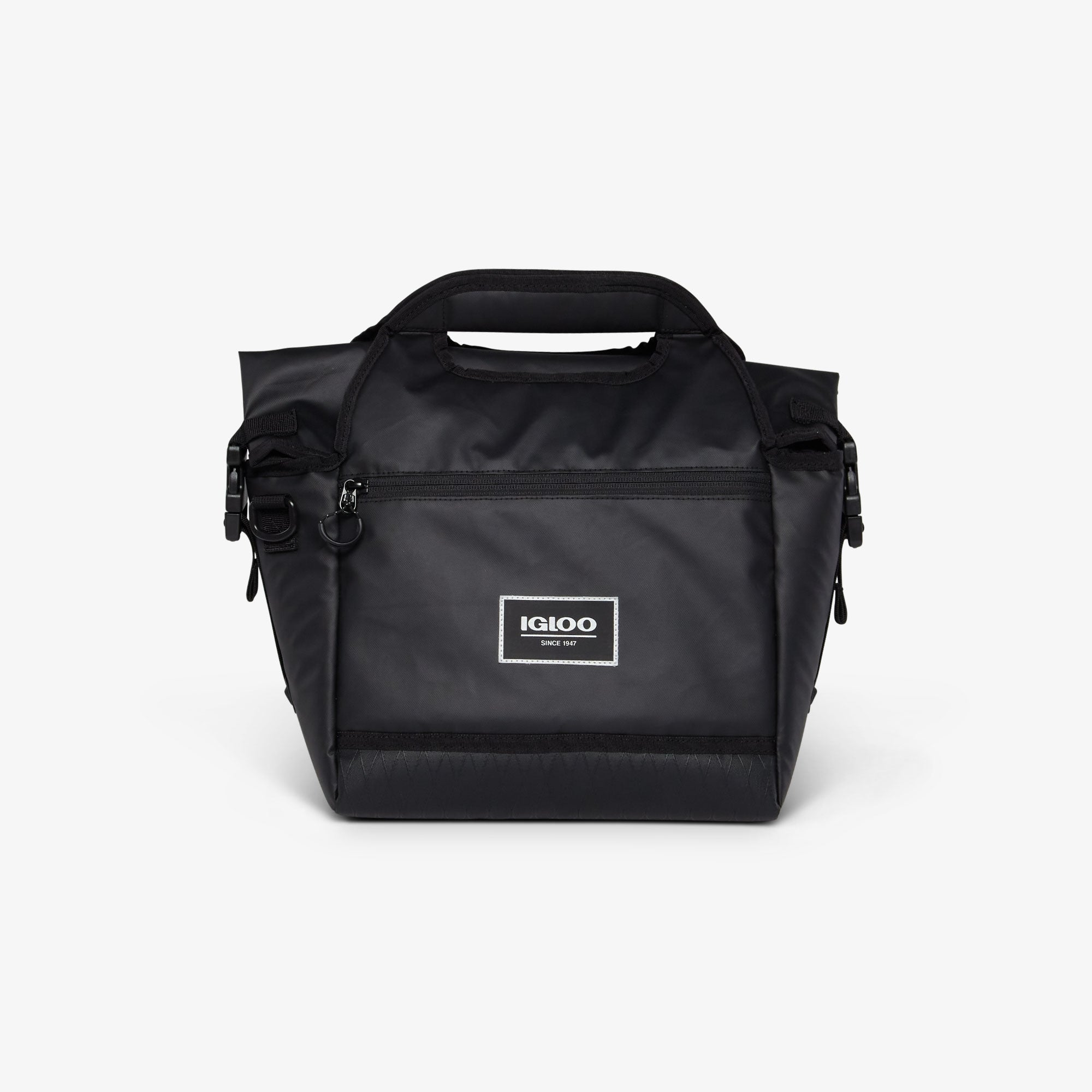 Front View | Pursuit 16-Can Personal Cooler::Black