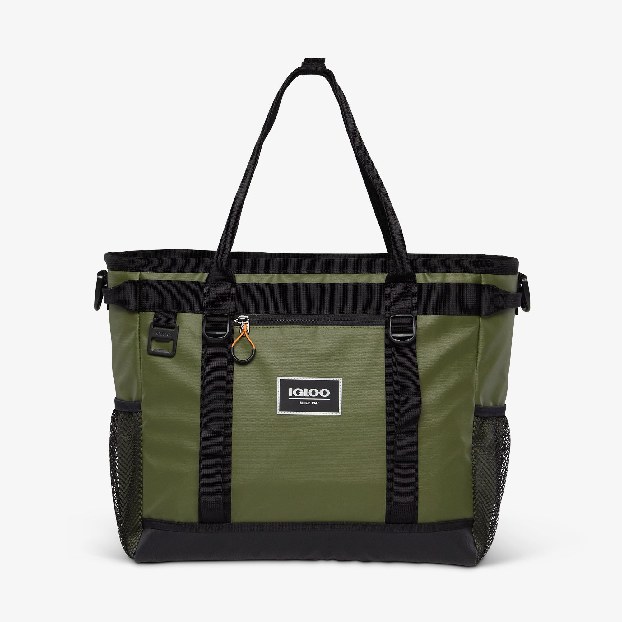 Front View | Pursuit 30-Can Tote::Chive
