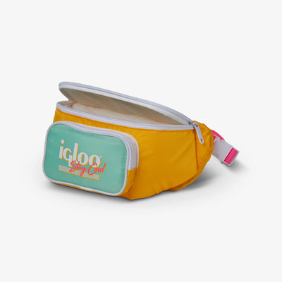Top Pouch View | Retro Fanny Pack