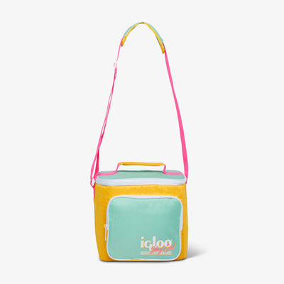 Handle View | Retro Square Lunch Bag