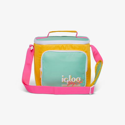 Large View | Retro Square Lunch Bag