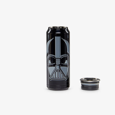 Lid Off View | Star Wars Darth Vader 16 Oz Stainless Steel Can Tumbler