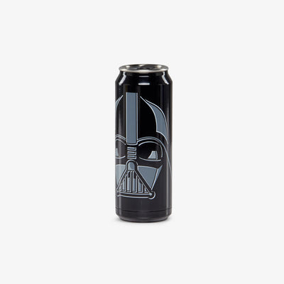 Angle View | Star Wars Darth Vader 16 Oz Stainless Steel Can Tumbler