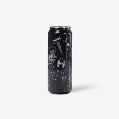 Front View | Star Wars Space Battle 16 Oz Stainless Steel Can Tumbler
