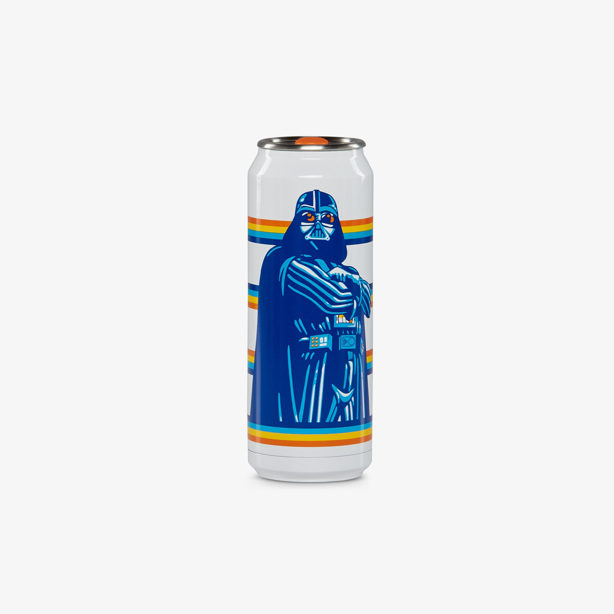 Front View | Star Wars Vintage Graphic 16 Oz Stainless Steel Can Tumbler