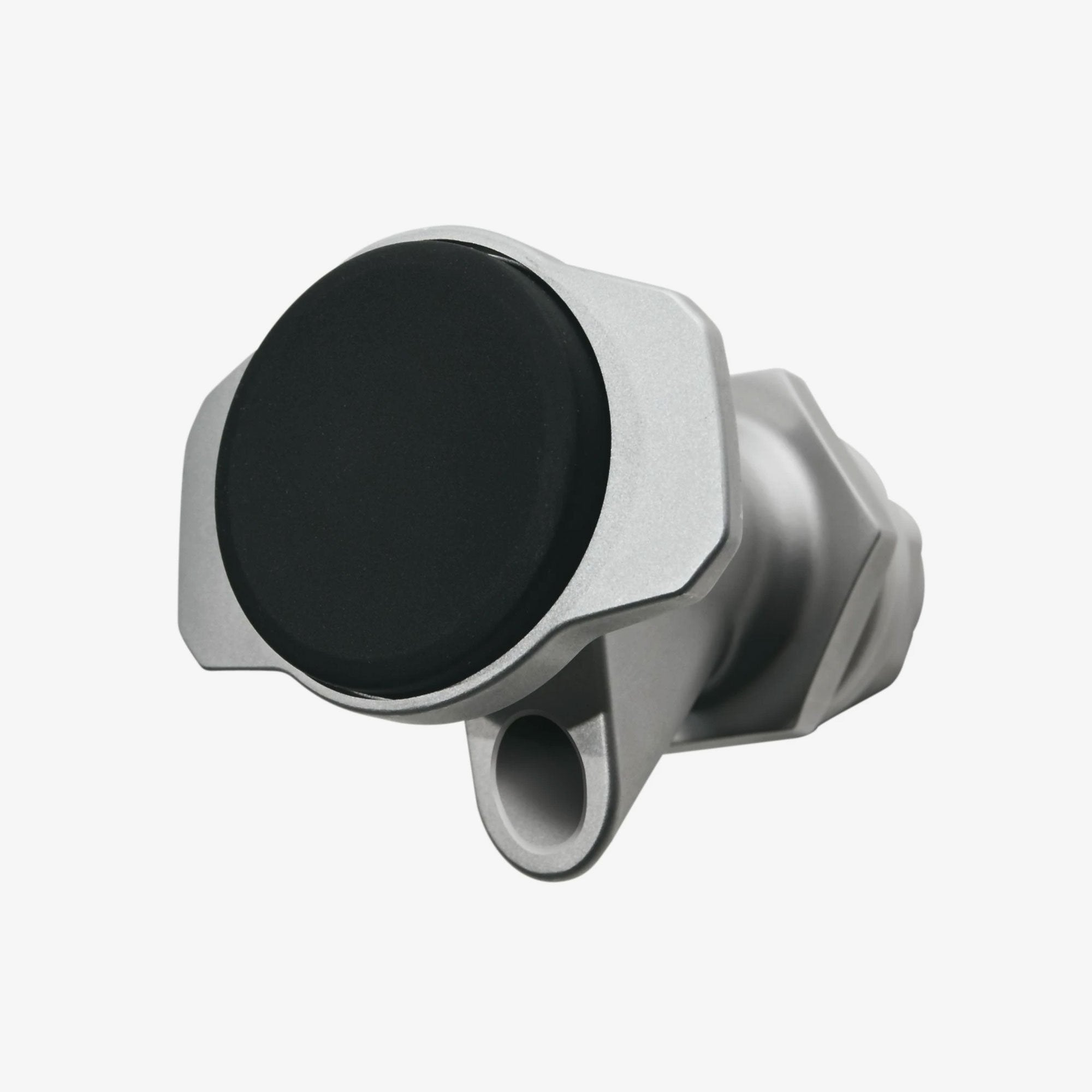 Large View | X-Large Push Button Spigot For 2-10 Gallon Water Jugs in Silver, Black at Igloo Accessories