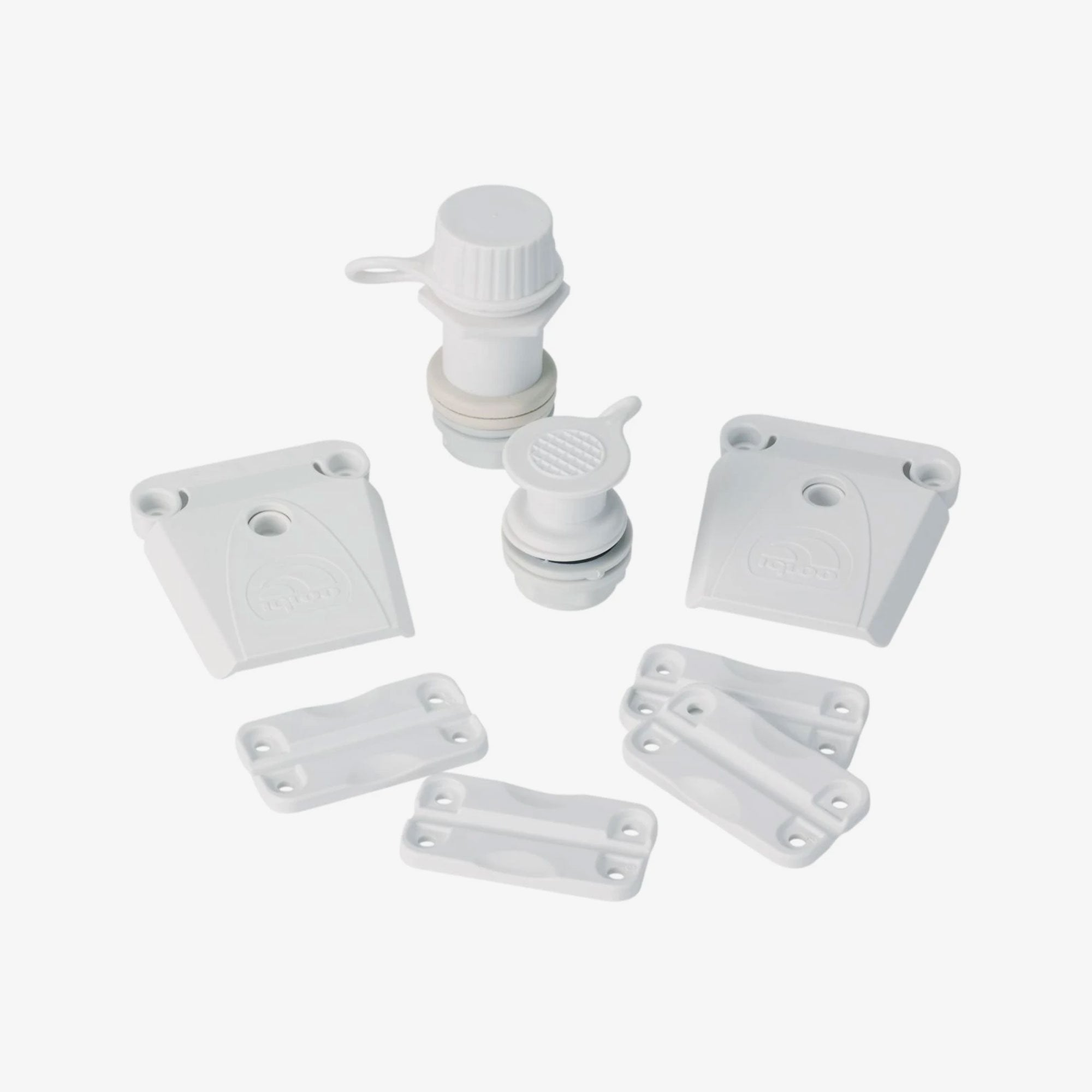 Large View | Universal Parts Kit For Ice Chest Coolers in White at Igloo Accessories