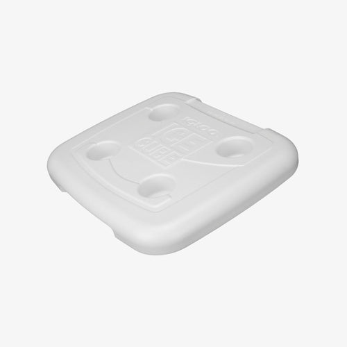 Large View | Lid For Ice Cube 60 Qt Coolers in White at Igloo Replacement Parts
