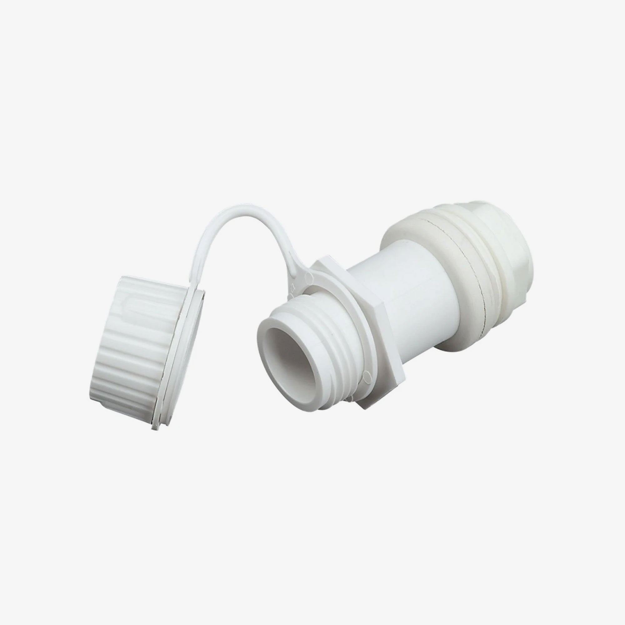 Large View | Threaded Cooler Drain Plug in White at Igloo Accessories