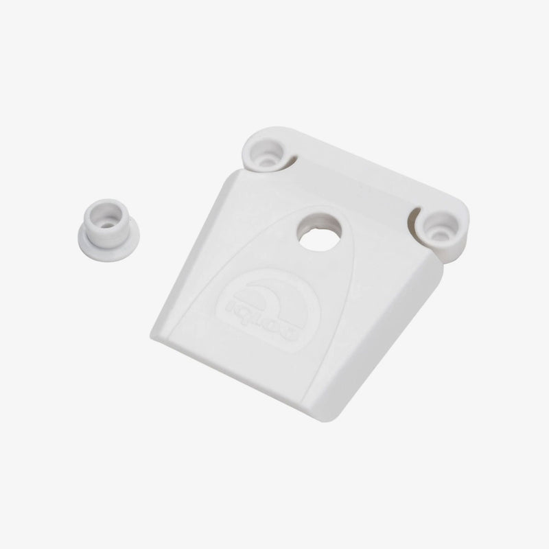 Large View | Plastic Universal Latch in White at Igloo Accessories