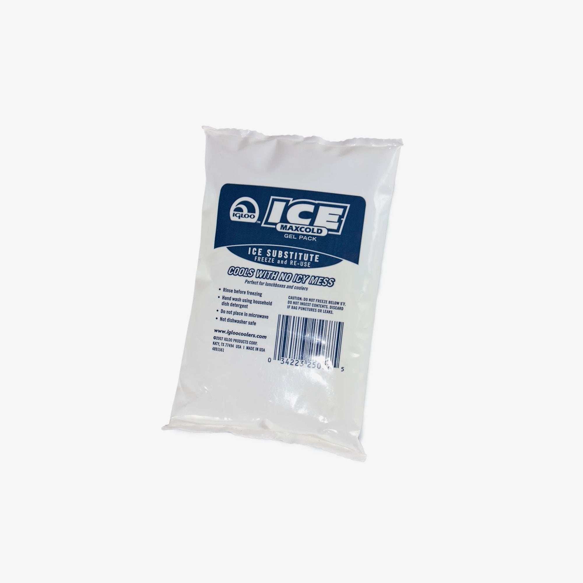 Large View | Maxcold Ice Gel Pack in White at Igloo Ice Substitutes