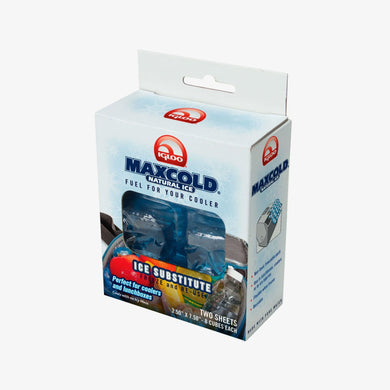 Large View | Maxcold Natural Ice Sheet 8 Cube 2 Pack in Blue at Igloo Ice Substitutes