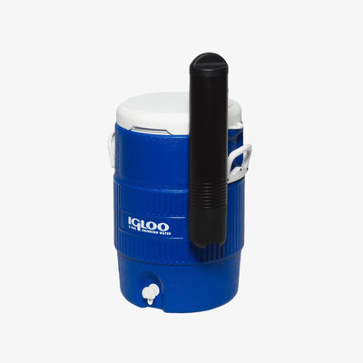 Open View | Igloo 5 Gallon Seat Top Water Jug With Cup Dispenser