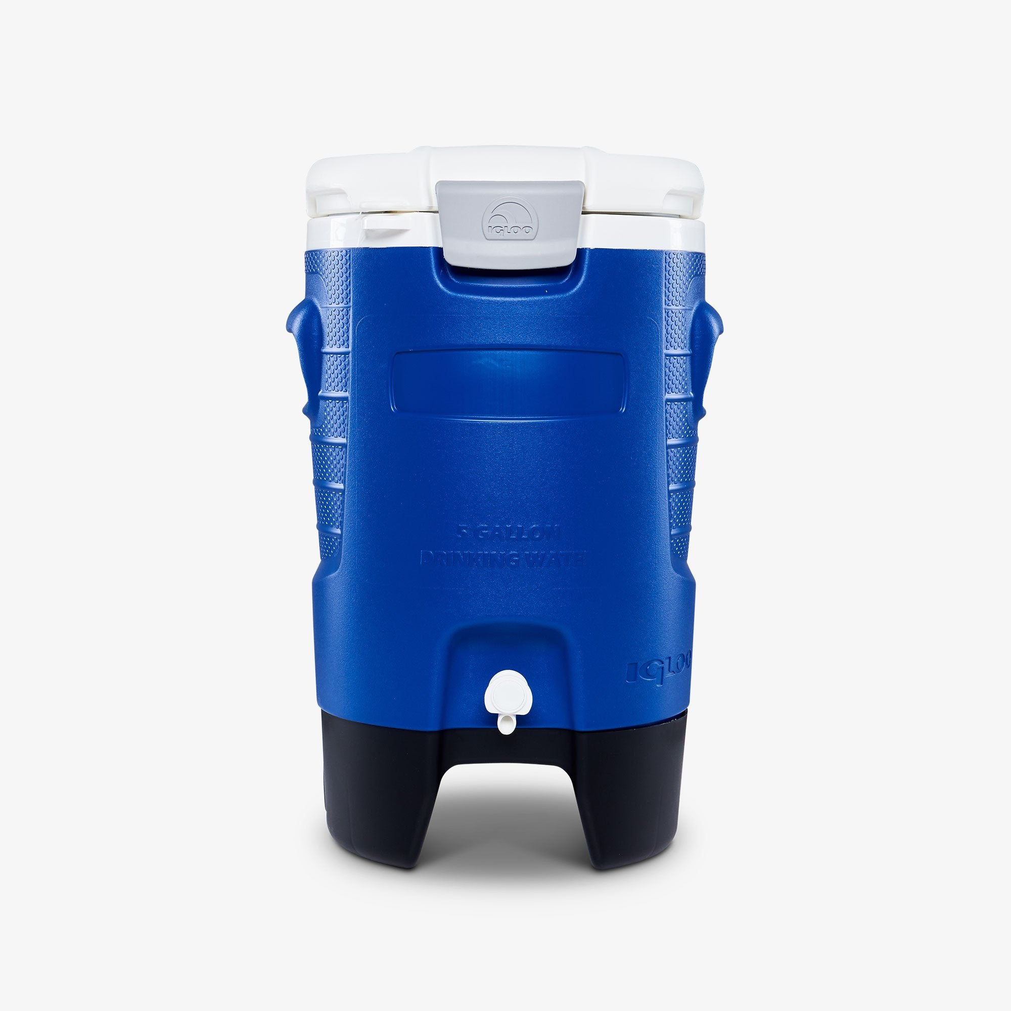 Large View | Sport 5 Gallon Roller Water Jug in Majestic Blue at Igloo Hard Side Coolers