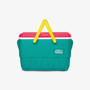 Large View | Retro Limited Edition Picnic Basket 25 Qt Cooler::Jade
