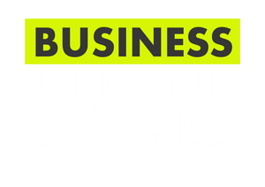 entrepreneurship podcast logo - business life and coffee